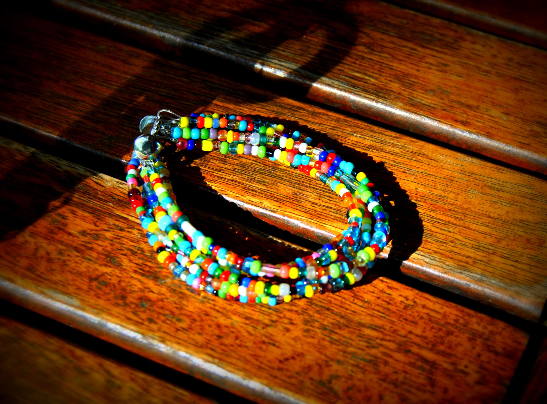 15 rocaille multicolore (2)