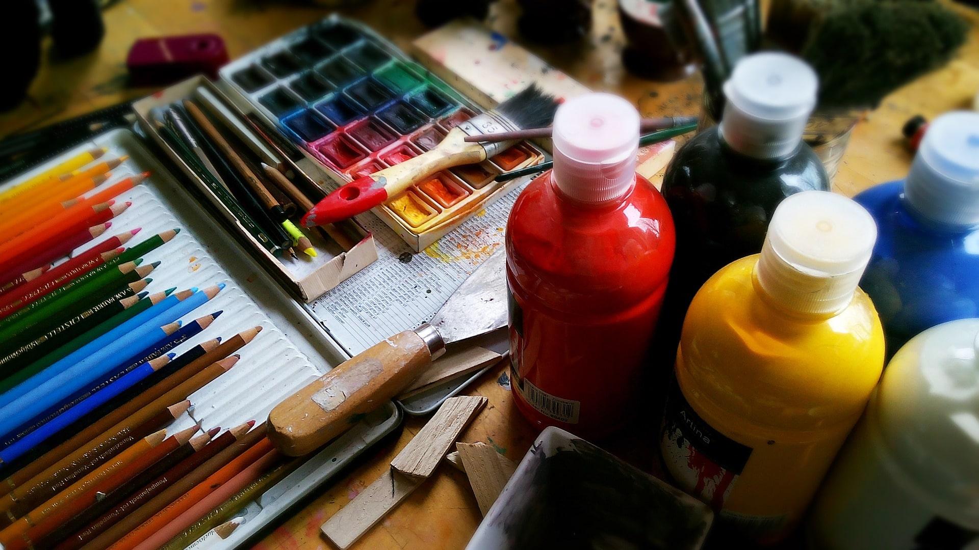 peinture bonheur sophie